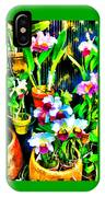 Flowers In Abstract 18 IPhone Case