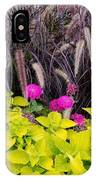 Flowers In Contrast IPhone Case