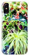 Flowers In Garden 3 IPhone Case