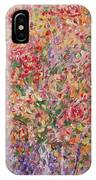 Flowers In Purple Vase. IPhone Case
