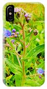Flowers In The Garden Of Life IPhone Case