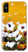 Flowers In The Sunset  IPhone Case