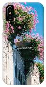 Flowers Of Panzano Photograph IPhone Case
