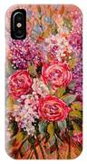 Flowers Of Romance IPhone Case