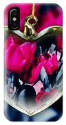 Flowers Of The Heart IPhone Case