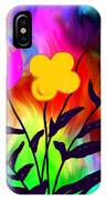 Flowers Of The I-magi-nation IPhone Case