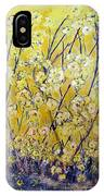 Flowers Of The Sun IPhone Case