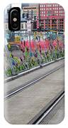 Flowers On The Fence IPhone Case