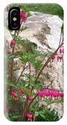 Flowers On The Rocks IPhone Case