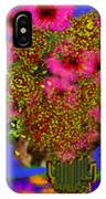 Flowers On The Table IPhone Case