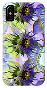 Flowers On The Wall IPhone Case