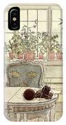 Flowers On The Windowsill IPhone Case