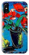 Flowers Roses IPhone Case