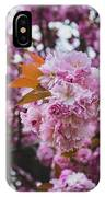 Leeds Pink Flower IPhone Case