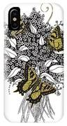 Flowers That Flutter IPhone Case
