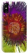 Flowerscape Thistle IPhone Case