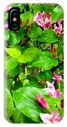 Flowery Flope IPhone Case