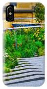 Flowery Garden On The High Line IPhone Case