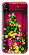 Flowery Window IPhone Case