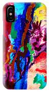 Flowing Contrasts IPhone Case
