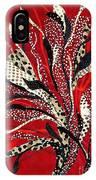 Flowing Dotcloth Bouquet IPhone Case