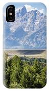 Flowing In The Forest IPhone Case
