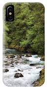 Flowing Through The Trees IPhone Case