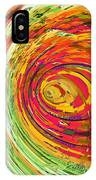 Fluorescent Wormhole IPhone Case