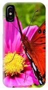 Fritillary Flutterby IPhone Case
