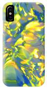 Fluttering Of Color IPhone Case