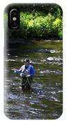 Fly Fishing In New York IPhone Case