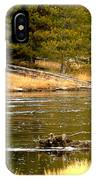 Fly Fishing On The Madison IPhone Case