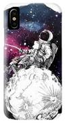Fly Me To The Moon IPhone Case