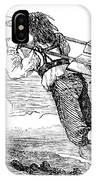Flying Machine, 1678 IPhone Case