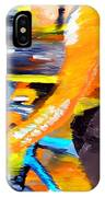 Flying Orange IPhone Case