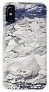 Flying Over Colorado Rocky Mountains IPhone Case