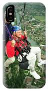 Flying Over Interlaken IPhone Case