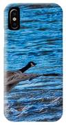 Flying Over Rough Waters IPhone Case