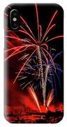Flying Prom Fireworks IPhone Case