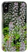Foam Flower Tiarella Cordifolia IPhone Case