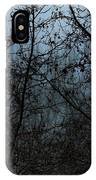 Fog In The Trees IPhone Case