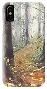 Foggy Path IPhone Case