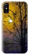 Foggy Sunset IPhone Case