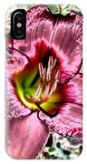 Foiled Beauty - Daylily IPhone Case