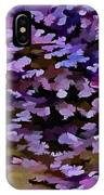Foliage Abstract In Blue, Pink And Sienna IPhone Case