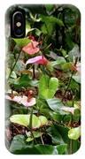 Foliage And Flowers IPhone Case