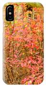 Foliage On Fire IPhone Case