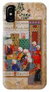 Folio From A Divan Of Mahmud IPhone Case