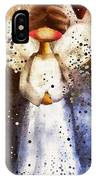 Folk Art Angel IPhone Case