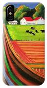 Folk Art Farm IPhone Case